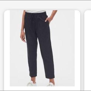 Gap Stripe Drawstring Pants in Bi-Stretch